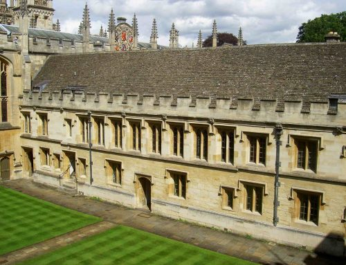 All Souls College Sustainability and Energy Reduction