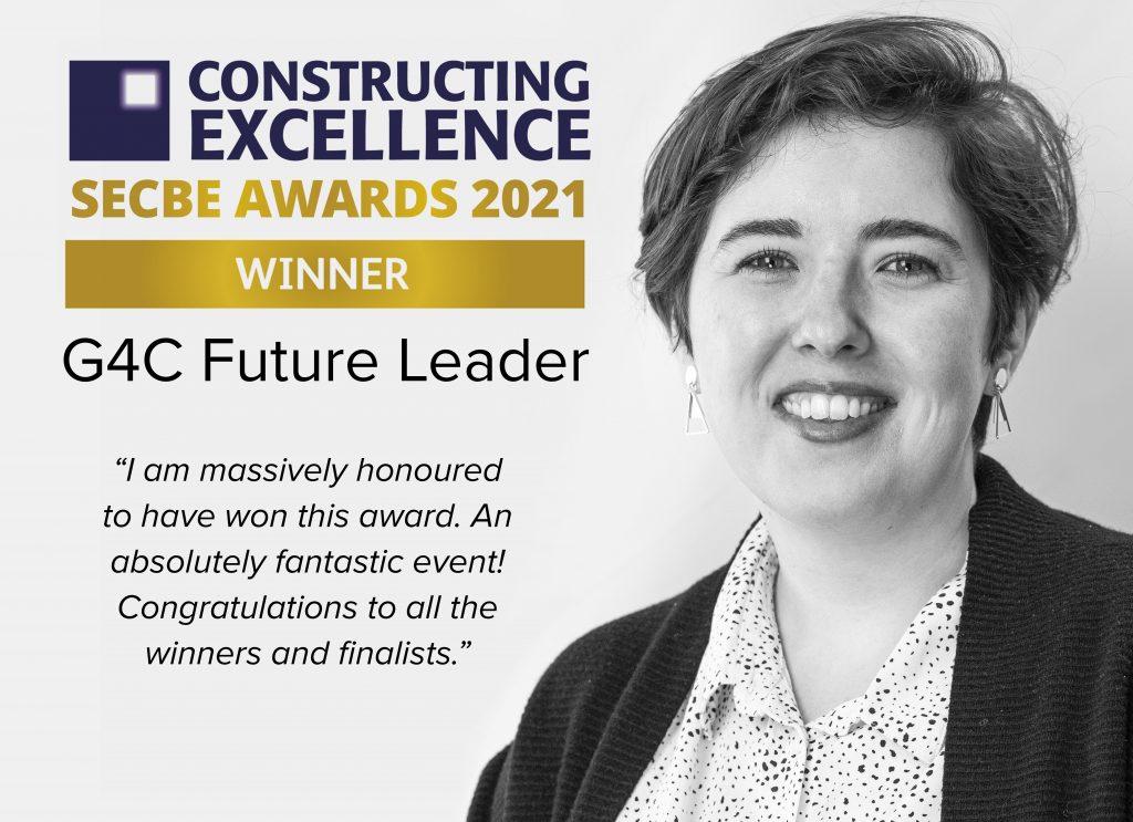 SECBE, G4C, Awards, SEBCE 2021, SECBE Future Leader, Future Leader Winner, SECBE Awards, Kathryn, Gundry, WWA Studios, WWA, West Waddy Archadia, West Waddy, Archadia, Architecture, Urban Design, Town Planning